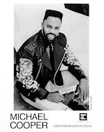 Michael Cooper Promo Print