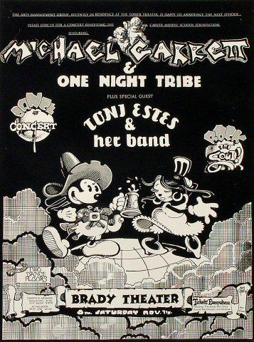 Michael Garrett & One Night Tribe Poster