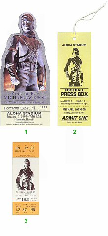 Michael Jackson1990s Ticket