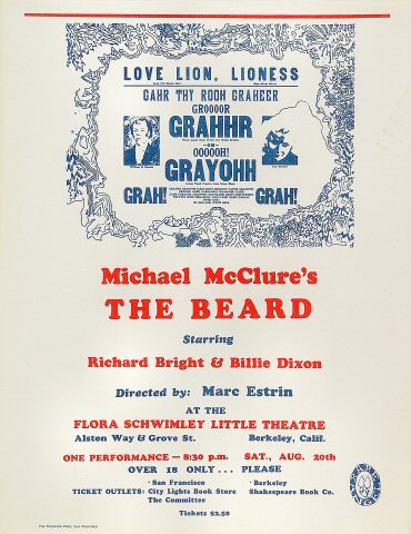 Michael McClureHandbill