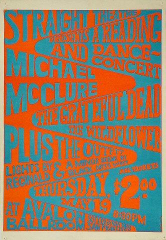 Michael McClure Poster