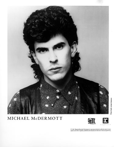 Michael McDermott Promo Print