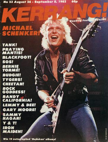 Michael SchenkerMagazine