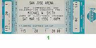 Michael W. Smith 1990s Ticket