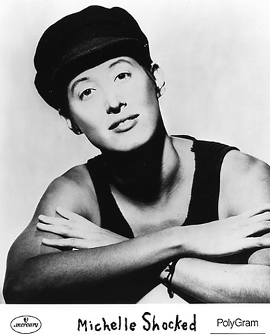 Michelle Shocked Promo Print