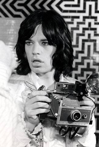 Mick JaggerFine Art Print