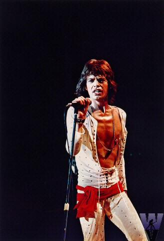 Mick Jagger Fine Art Print