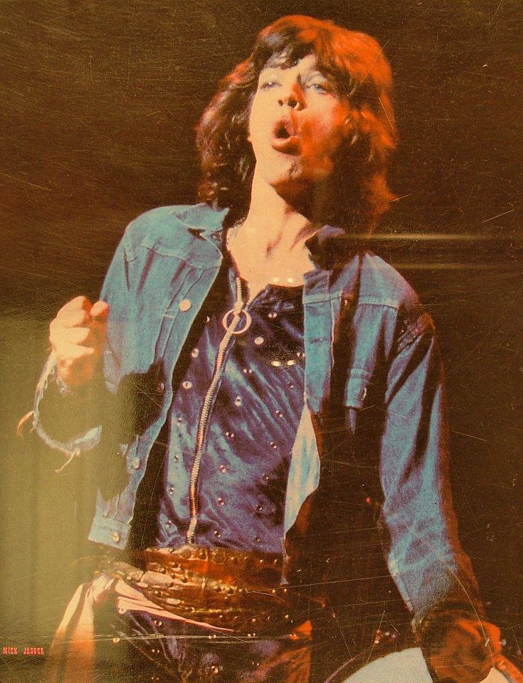 Mick Jagger Handbill