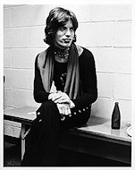 Mick Jagger Premium Vintage Print