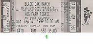 Mickey Hart &amp; Planet Drum 1990s Ticket