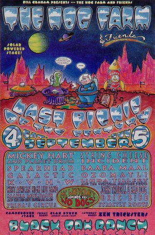 Mickey Hart & Planet Drum Handbill