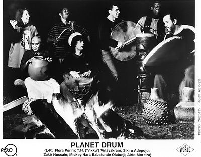 Mickey Hart &amp; Planet DrumPromo Print