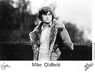 Mike Oldfield Promo Print