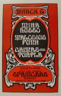 Mike Russo Handbill