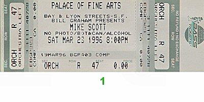 Mike Scott1990s Ticket