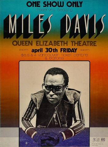Miles DavisPoster