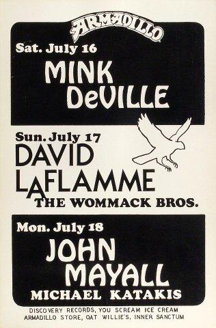 Mink DeVille Poster