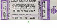 Mississippi Mass Choir 1990s Ticket
