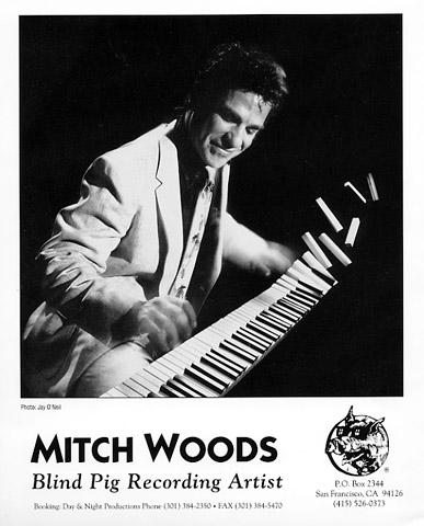 Mitch Woods Promo Print