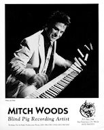 Mitch Woods Promo Print