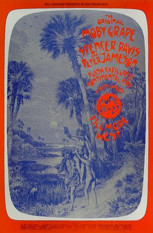 Moby Grape Handbill