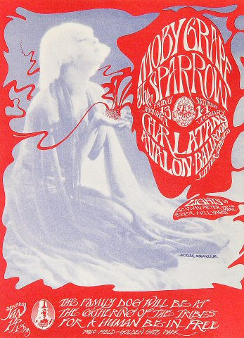 Moby Grape Postcard