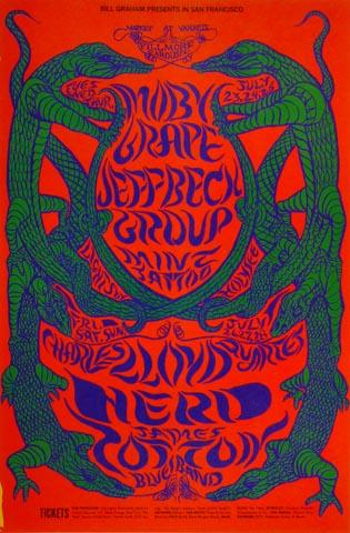 Jeff Beck Group Postcard