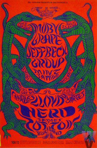Jeff Beck Group Poster