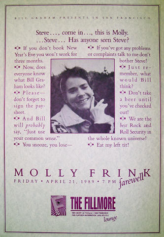 Molly Frink Poster