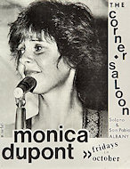 Monica Dupont Handbill