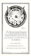 Monster Co. Handbill