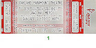 Morris Day Vintage Ticket