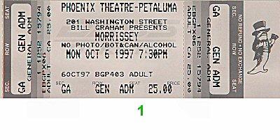 Morrissey1990s Ticket