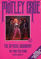 Motley Crue: the First Five Years Book