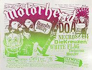 Motorhead Handbill