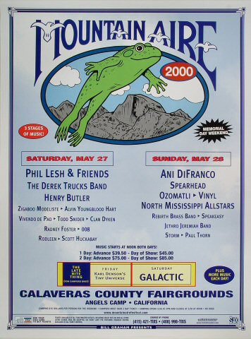 Mountain Aire Poster