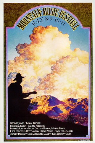 Mountain Music Festival Poster