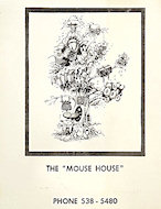 Mouse House Handbill