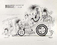 Mouse Monster Club Handbill