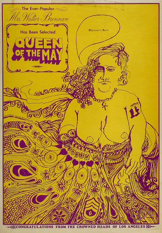 Mrs. Walter Brennan Poster