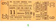 Ms. All-Bare America 1970s Ticket