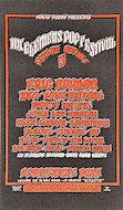 Mt. Clemen's Pop Festival Handbill