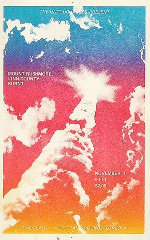 Mt. Rushmore Handbill