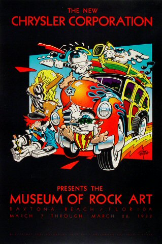 Museum of Rock Art Poster