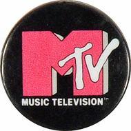 Music Television Pin