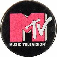 Music Television Vintage Pin