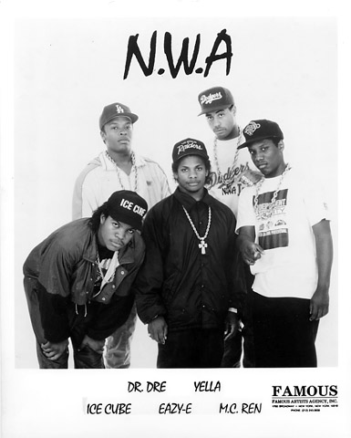 N.W.A.Promo Print