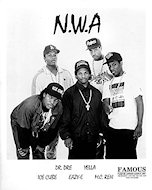 N.W.A. Promo Print