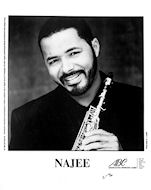Najee Promo Print