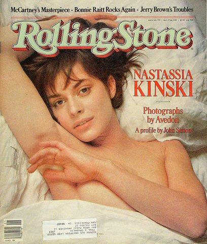 Nastassia KinskiRolling Stone Magazine